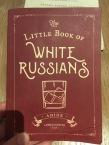White Russian Menu
