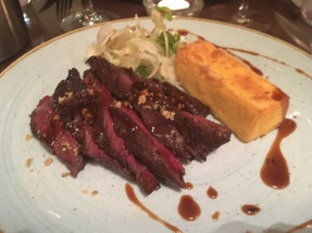 Beef and polenta